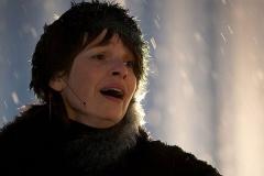 Maya-singing-snow